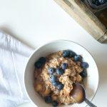 Bulgur Breakfast Bowl