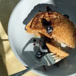Pistachio Pancakes with Cardamom