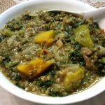 Scrumptious Mung & Spinach Stew with Avocado