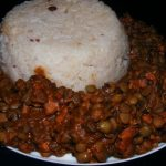 Indian Spiced Lentil Stew with Rice
