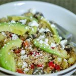 Quinoa & Avocado Cleansing Bowl with Lemon Tahini Sauce