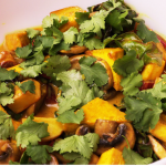Tofu & Vegetables Stir-Fry in Coconut Milk
