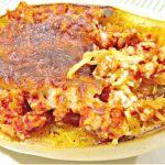 Spiraled Sweet Potato Enchilada Skillet